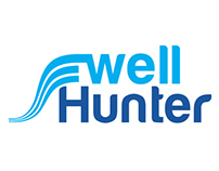 Logo study- swell hunter