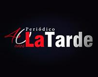 Periódico La Tarde 40 años - Film
