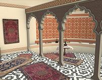Mughal Prayer Room