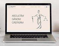 Web Design - Landing Page - Lawyer