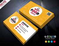 Restaurant Business Card Free PSD Bundle
