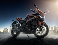 Honda CBR 500R - Fusão de Imagem
