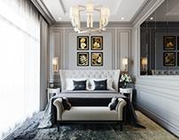 Contemporary Classic Bedroom