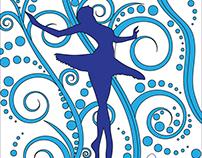 ballerina, dancer, digital art