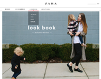 ZARA Web Redesign