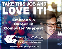 Galveston College Social Ads