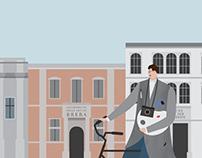 Short animated film about Milan Klemenčič