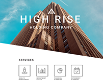 High Rise Holding Co | Web Design