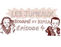 Les Jumeaux - comic strip Jeune Afrique - Saison 1
