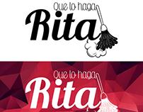 Que lo haga Rita - Logo