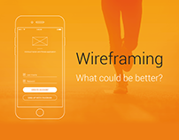 UX Wireframe Fitness Tracker