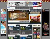 Kewlbox.com Website
