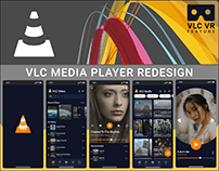 VLC MEDIA PLAYER REDESIGN