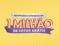 Campanha Aniversário FotoRegistro   Landing Page