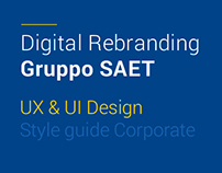 SAET Group - Digital Rebranding