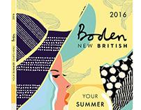 BODEN NEW BRITISH - Digital Catalog Cover Design