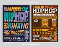 15+ Night of Hip Hop Posters