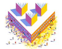Illustration for prospectus cover