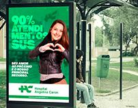 """Hospital Angelina Caron - campanha """"O amor como recurso"""