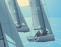 Harvest Moon Regatta Posters