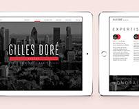 Gilles Doré Avocats — Site web