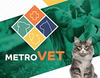 MetroVET - Logo & Branding Development