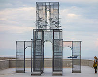 Assistent for Edoardo Tresoldi 'INCIPIT' sculpture