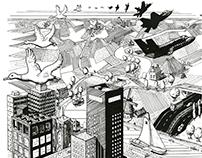 Ode to Escher (Leeuwarden 2018)