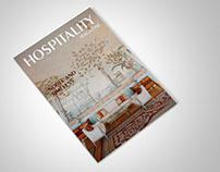 Hospitality - Design de Revista | Magazine Design