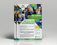 Seminar or Corporate Event flayer template