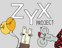 ZYX Project. Kooky Alphabet Stories.