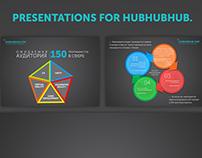 Presentations for hubhubhub
