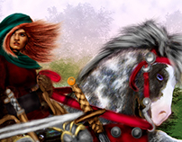 Medieval Knight Historical Figure Physical and Digital