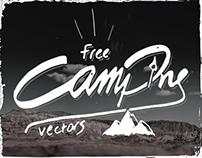 Free hand-drawn Camping Vectors