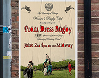 Prom Dress Rugby Invite