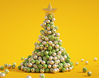 C4D Christmas Tree