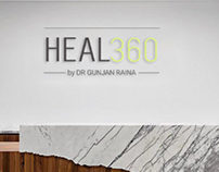 Brand Identity for HEAL360