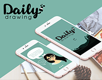 Projeto app Daily Drawing