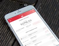 Santander iOS App Concept
