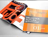 Typographic Magazine Design