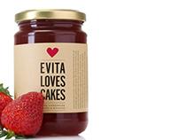 Evita Loves Cakes Identity