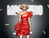 - Moschino Paper Doll -