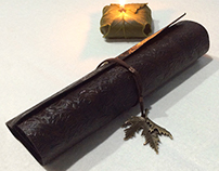 Leather Scroll of Galadhrim