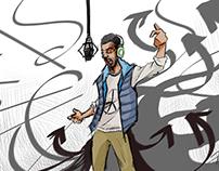 Hip Hop Sketch