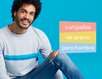 Campañas masculino Dafiti