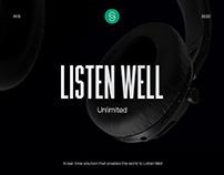 IRIS - Listen Well - Website