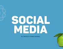Social Media - Clínica Funcional