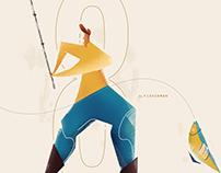 fisherman   Illustration