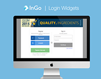 InGo | Login Widget