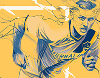LA Galaxy Pride Night Poster